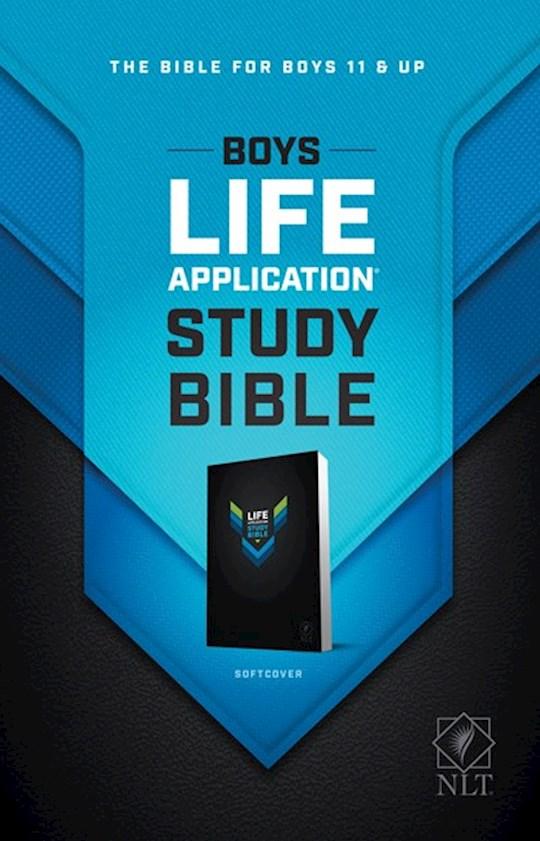 NLT Boys Life Application Study Bible-Softcover | SHOPtheWORD