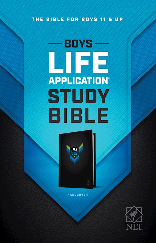 NLT Boys Life Application Study Bible-Hardcover | SHOPtheWORD