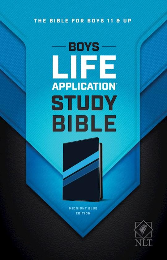 NLT Boys Life Application Study Bible-Midnight Blue TuTone | SHOPtheWORD