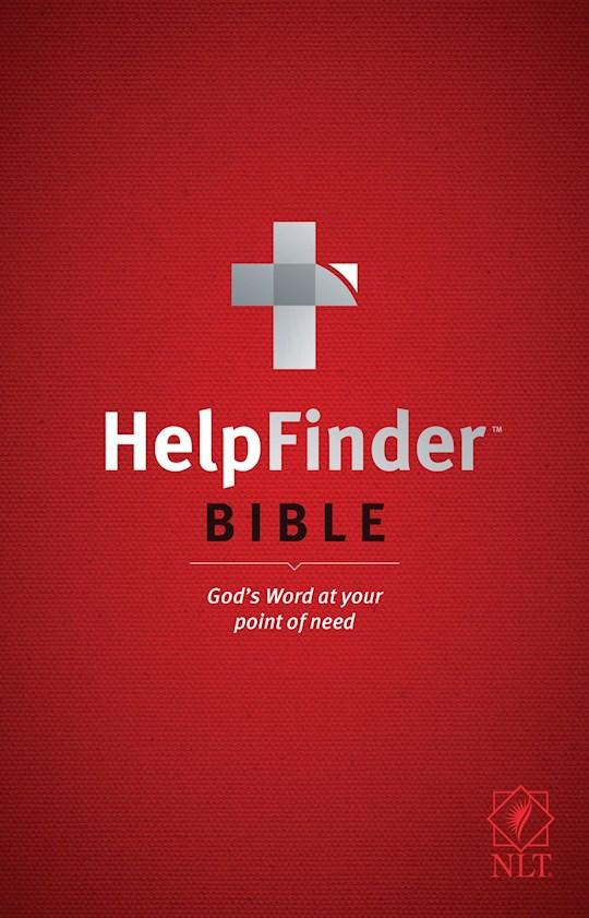 NLT Helpfinder Bible-Hardcover | SHOPtheWORD