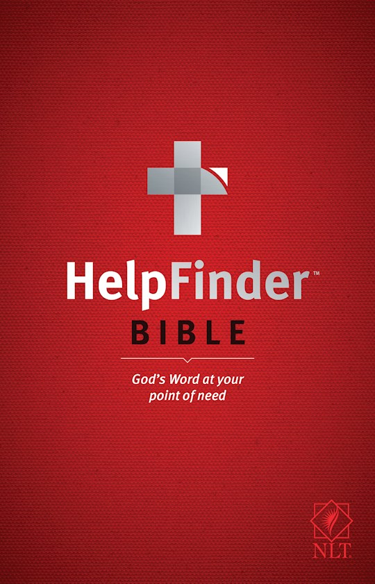 NLT Helpfinder Bible-Softcover | SHOPtheWORD