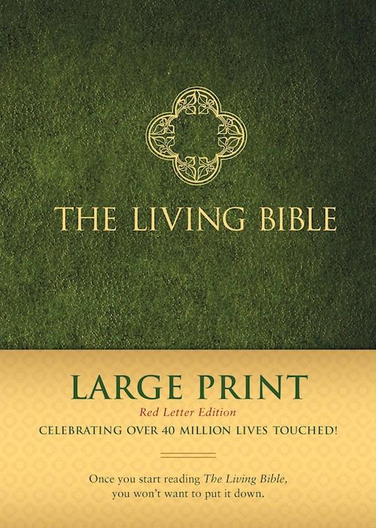 TLB The Living Bible/Large Print (RL)-Hardcover | SHOPtheWORD