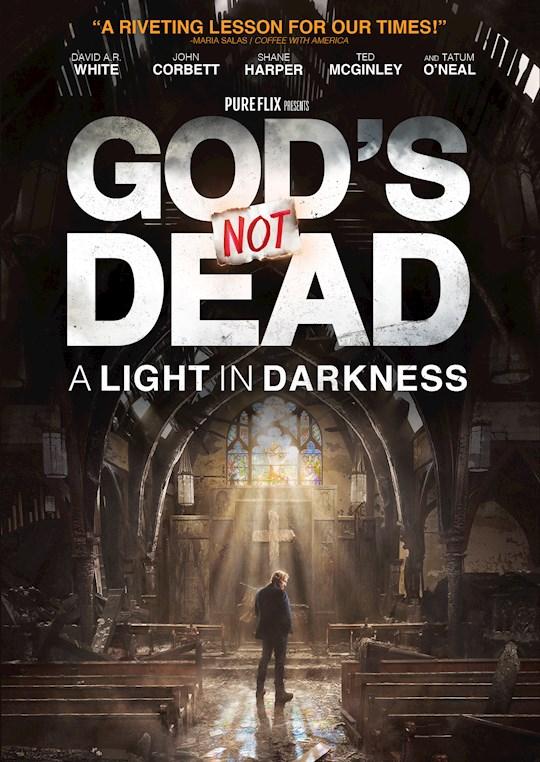 DVD-God's Not Dead: A Light In Darkness   SHOPtheWORD