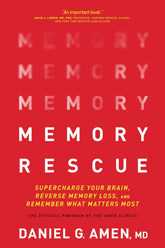 Memory Rescue-Softcover by Daniel G Amen | SHOPtheWORD