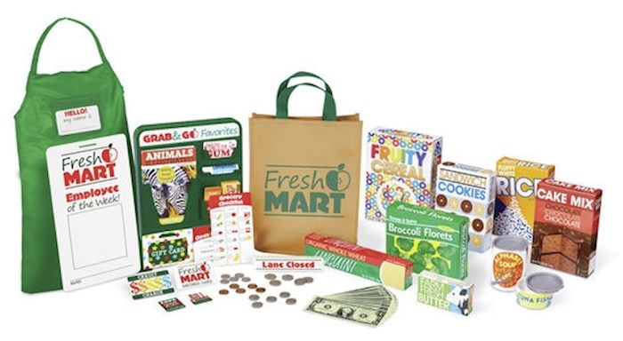 Pretend Play-Fresh Mart Grocery Store Companion Collection (70+ Pieces) (Ages 3+)   SHOPtheWORD