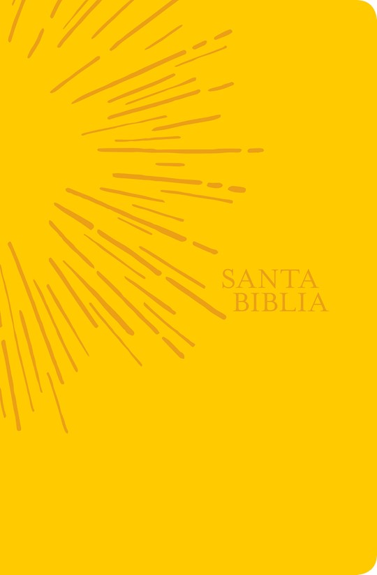 Span-NTV Holy Bible, Agape Edition (Santa Biblia, Edicion Agape)-Sunny Yellow LeatherLike | SHOPtheWORD