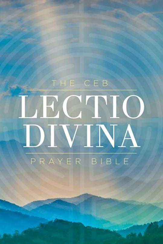 CEB Lectio Divina Prayer Bible-Hardcover  | SHOPtheWORD