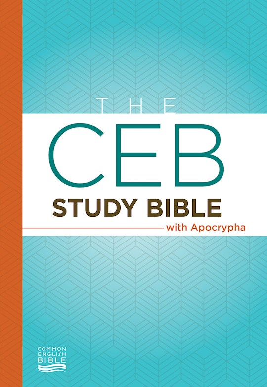 CEB Study Bible w/Apocrypha-Hardcover | SHOPtheWORD