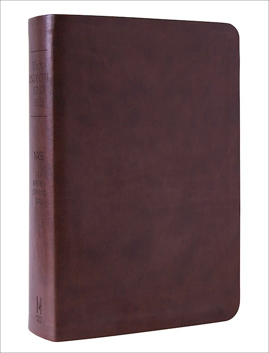 NASB New Inductive Study Bible-Brown Milano Softone | SHOPtheWORD