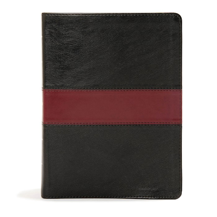 KJV Apologetics Study Bible-Black/Burgundy LeatherTouch | SHOPtheWORD