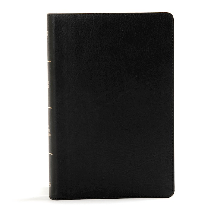 KJV Large Print Personal Size Reference Bible-Black LeatherTouch | SHOPtheWORD