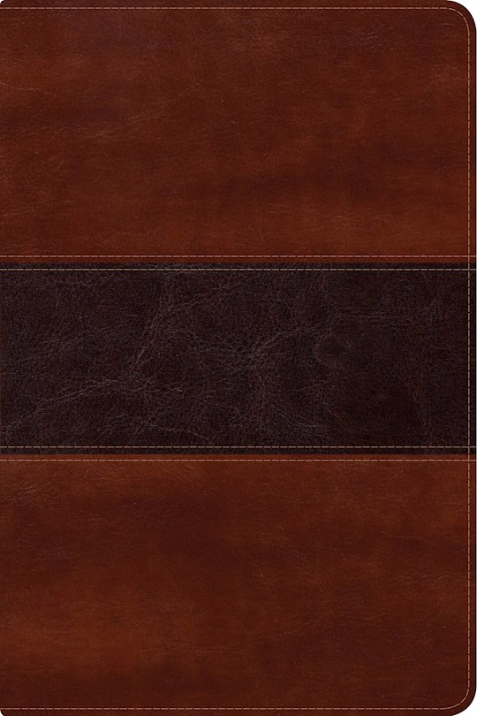 Span-NIV Fisher Of Men Bible-Mahogany LeatherTouch (Biblia Del Pescador) | SHOPtheWORD