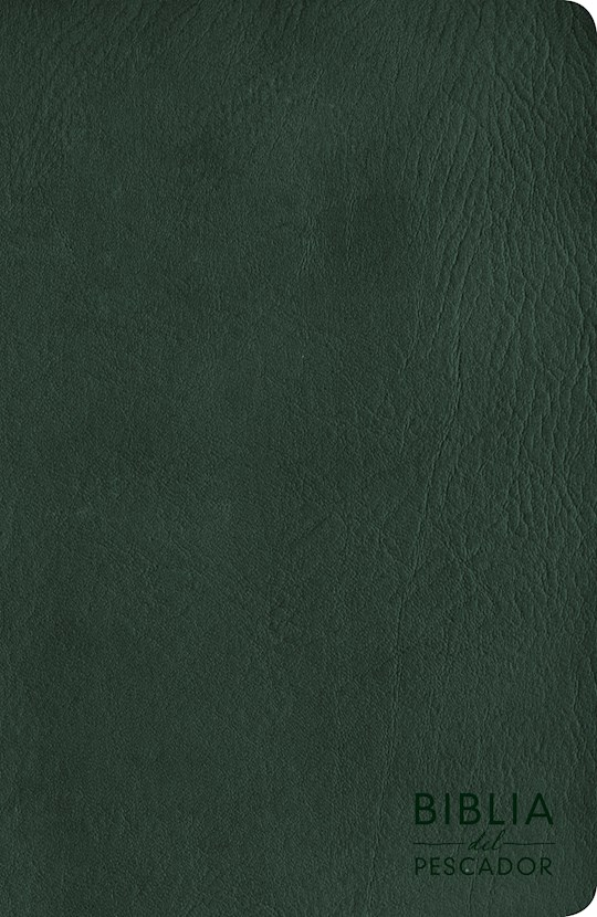 Span-NIV Fisher Of Men Bible-Green LeatherTouch (Biblia Del Pescador) | SHOPtheWORD