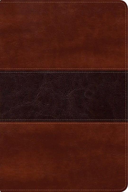 Span-RVR 1960 Fisher Of Men Bible-Mahogany LeatherTouch (Biblia Del Pescador) | SHOPtheWORD