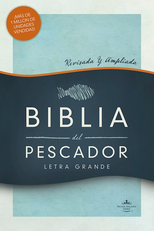Span-RVR 1960 Fisher Of Men Bible/Large Print (Biblia del Pescador, Letra Grande)-Hardcover | SHOPtheWORD