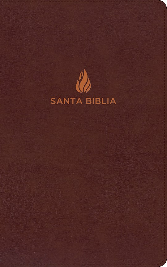 Span-RVR 1960 Ultrathin Bible-Brown Bonded Leather (Biblia Ultrafina) | SHOPtheWORD