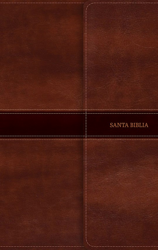 Span-RVR 1960 Ultrathin Bible (Biblia Ultrafina)-Brown Bonded Leather w/Magnetic Flap | SHOPtheWORD