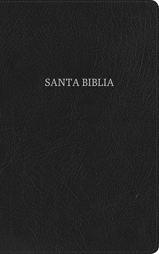 Span-RVR 1960 Ultrathin Bible-Black Bonded Leather Indexed (Biblia Ultrafina Con Índice) | SHOPtheWORD
