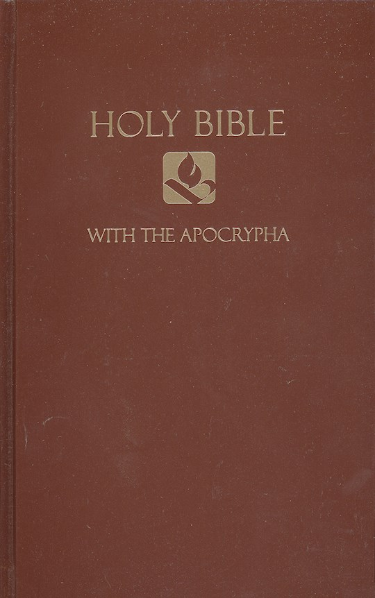 NRSV Pew Bible w/Apocrypha-Brown Hardcover | SHOPtheWORD