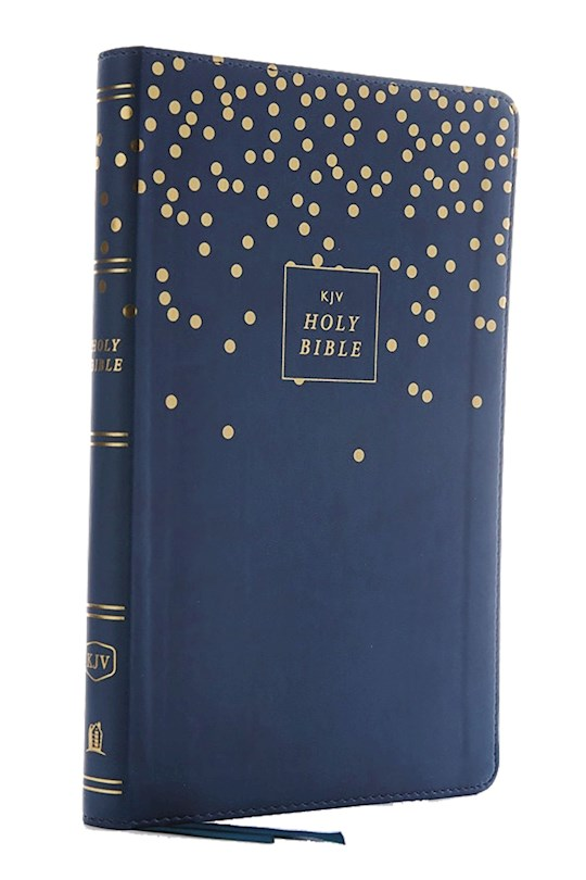 KJV Thinline Bible/Youth Edition (Comfort Print)-Teal Leathersoft | SHOPtheWORD