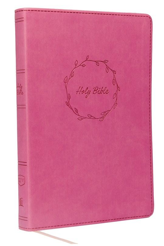 KJV Thinline Bible (Comfort Print)-Pink Leathersoft | SHOPtheWORD