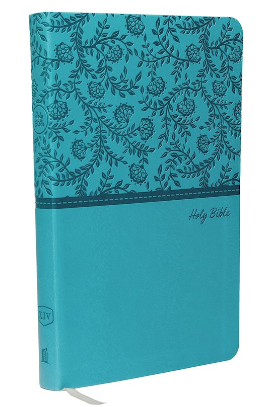 KJV Value Thinline Bible (Comfort Print)-Turquoise Leathersoft | SHOPtheWORD