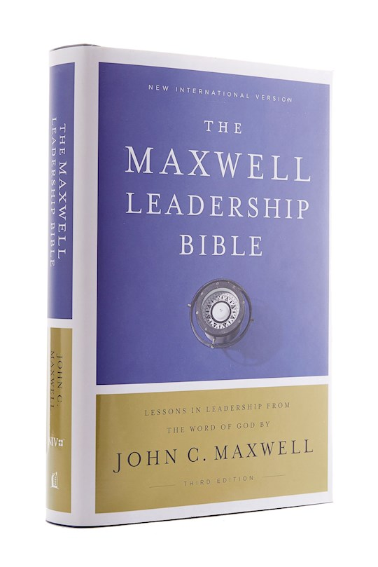 NIV Maxwell Leadership Bible (Third Edition) (Comfort Print)-Hardcover | SHOPtheWORD