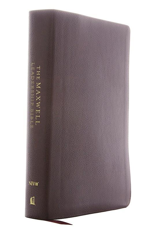 NIV Maxwell Leadership Bible (Third Edition) (Comfort Print)-Black Leathersoft | SHOPtheWORD