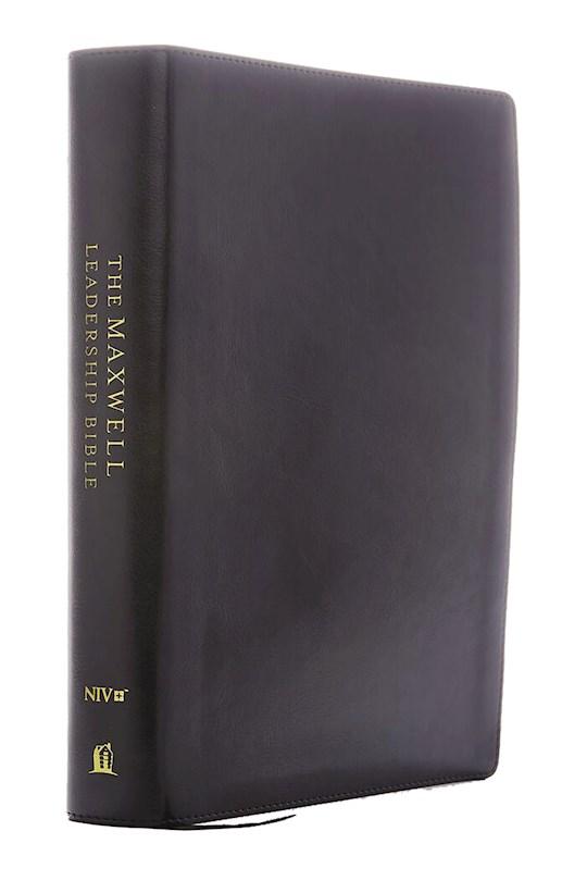 NIV Maxwell Leadership Bible (Third Edition) (Comfort Print)-Burgundy Bonded Leather  | SHOPtheWORD