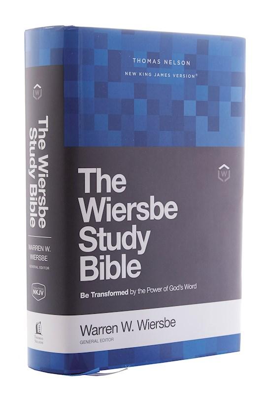 NKJV Wiersbe Study Bible (Comfort Print)-Hardcover | SHOPtheWORD