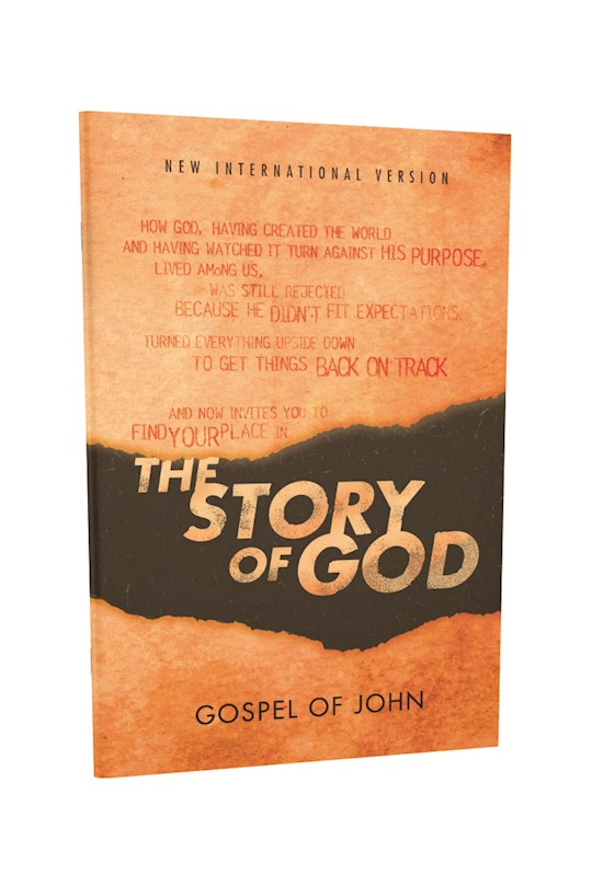 NIV The Story Of God Bible: Gospel Of John (Reader's Edition)-Softcover | SHOPtheWORD