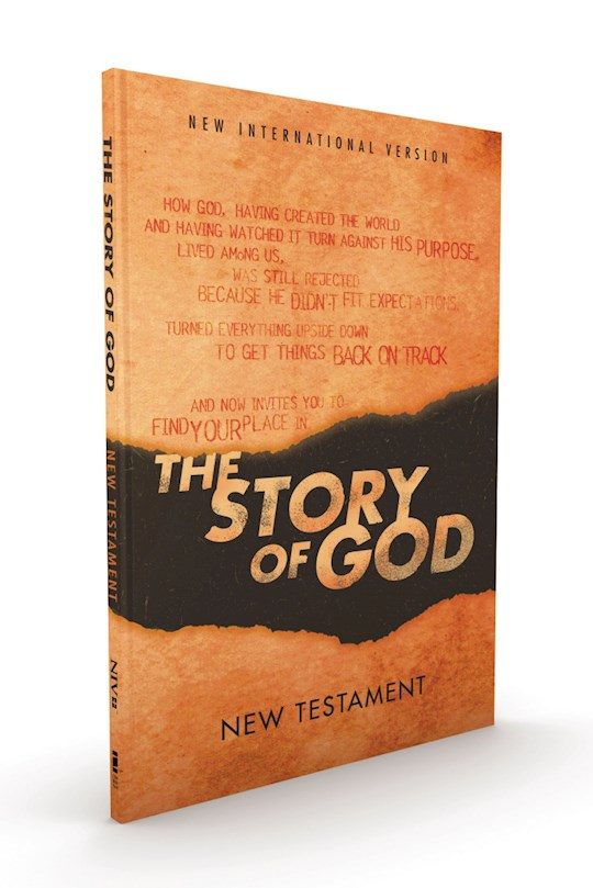 NIV The Story Of God New Testament-Softcover | SHOPtheWORD