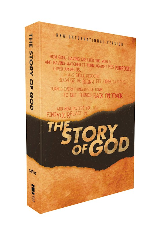 NIV The Story Of God Bible-Softcover | SHOPtheWORD