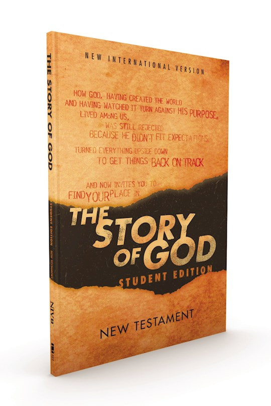 NIV The Story Of God Bible: Student Edition New Testament-Softcover | SHOPtheWORD