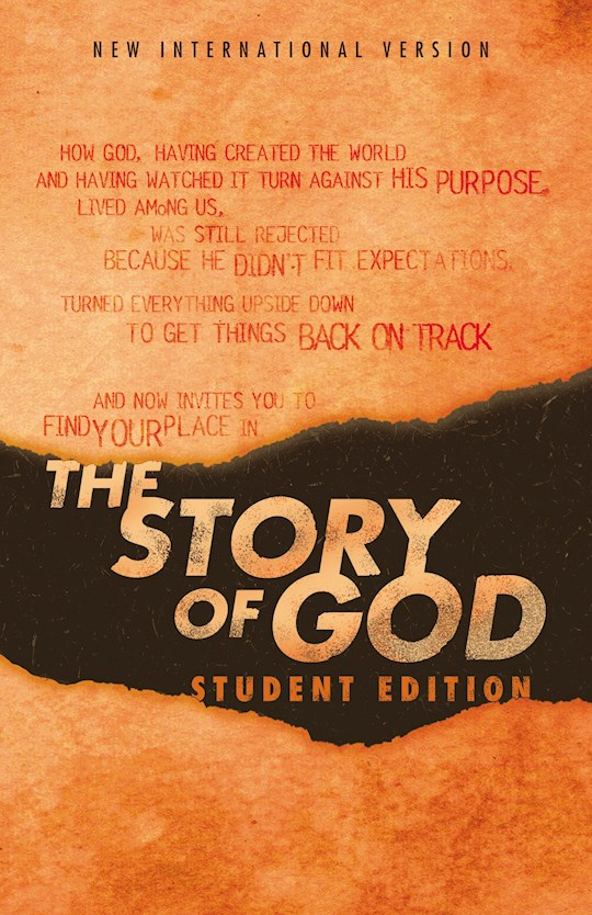 NIV The Story Of God Bible: Student Edition-Softcover | SHOPtheWORD