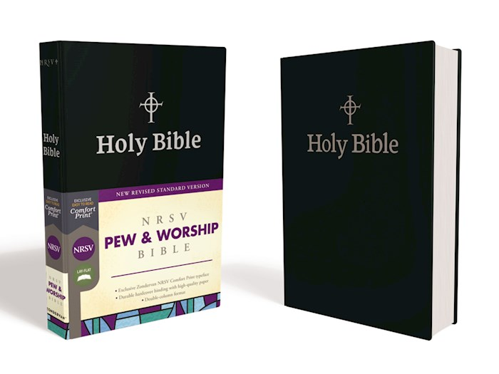 NRSV Pew & Worship Bible (Comfort Print)-Black Hardcover | SHOPtheWORD