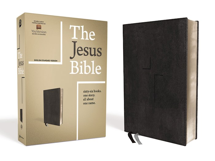 ESV The Jesus Bible-Black Leathersoft | SHOPtheWORD