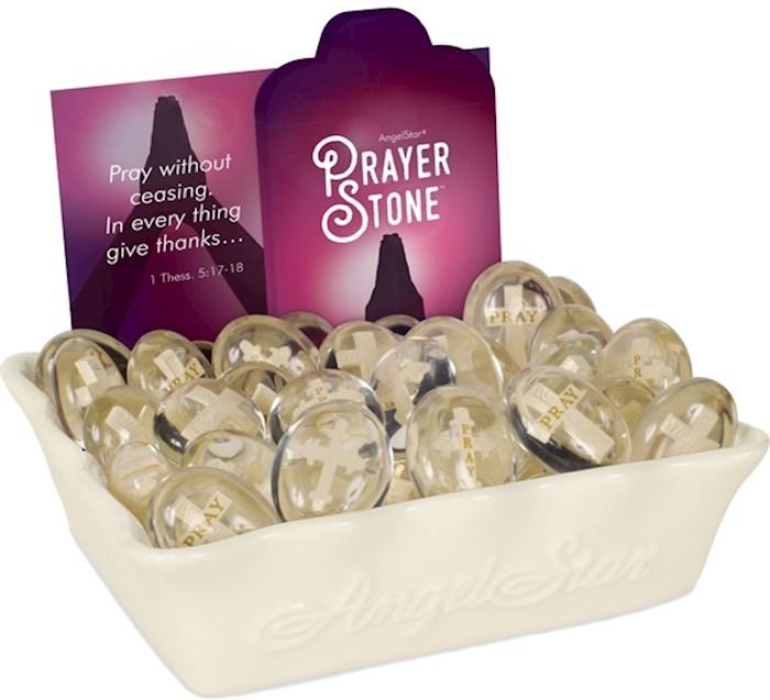 Display-Prayer Stones w/Cross Assortment (48 Pieces) | SHOPtheWORD