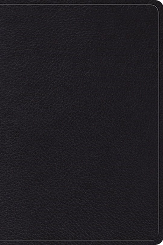 ESV Gospel Transformation Study Bible-Black Top Grain Leather (Not Available-Out Of Print) | SHOPtheWORD