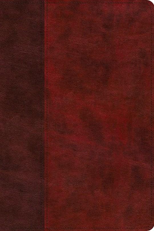 ESV Gospel Transformation Study Bible-Burgundy/Red Timeless Design TruTone   SHOPtheWORD