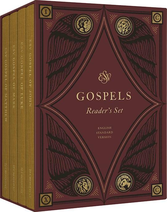 ESV Reader's Gospels-Cloth Over Board (Set Of 4 Volumes) | SHOPtheWORD