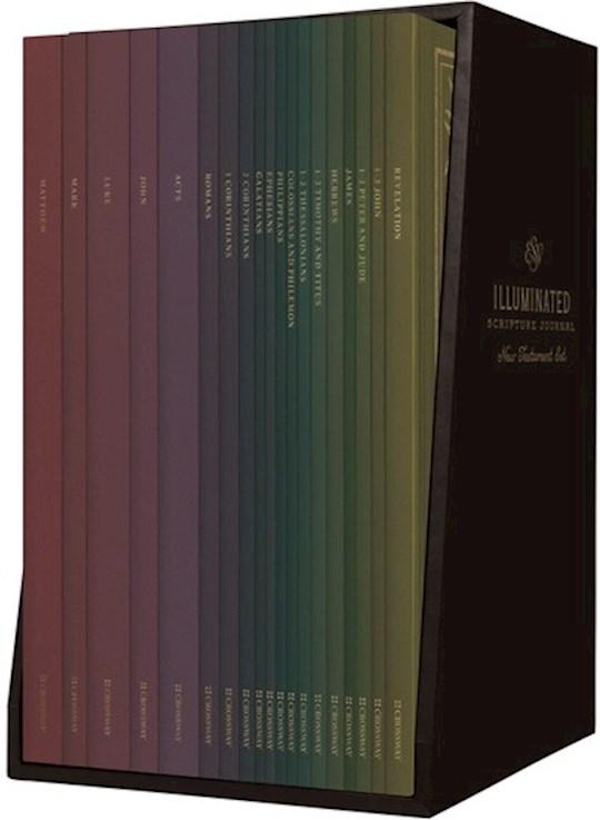 ESV Illuminated Scripture Journal: New Testament-Softcover (Set Of 19) | SHOPtheWORD