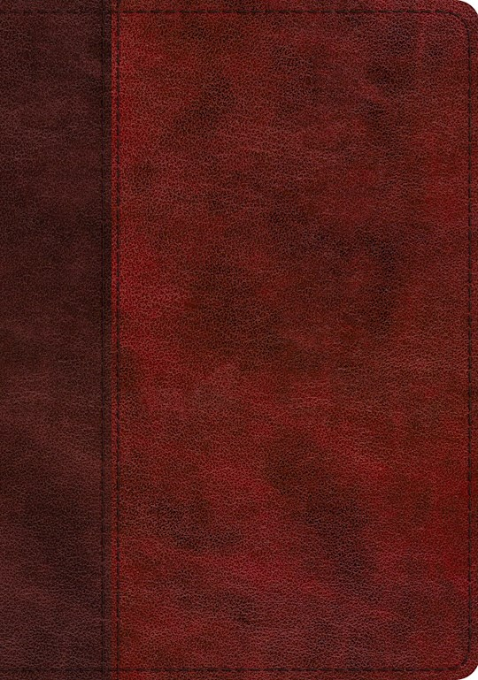 ESV Study Bible-Burgundy/Red Timeless Design Trutone   | SHOPtheWORD