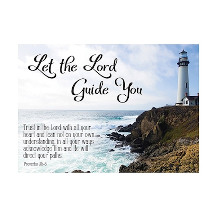 Postcard-Let The Lord Guide You (6 x 4.25) (Pack Of 6) | SHOPtheWORD
