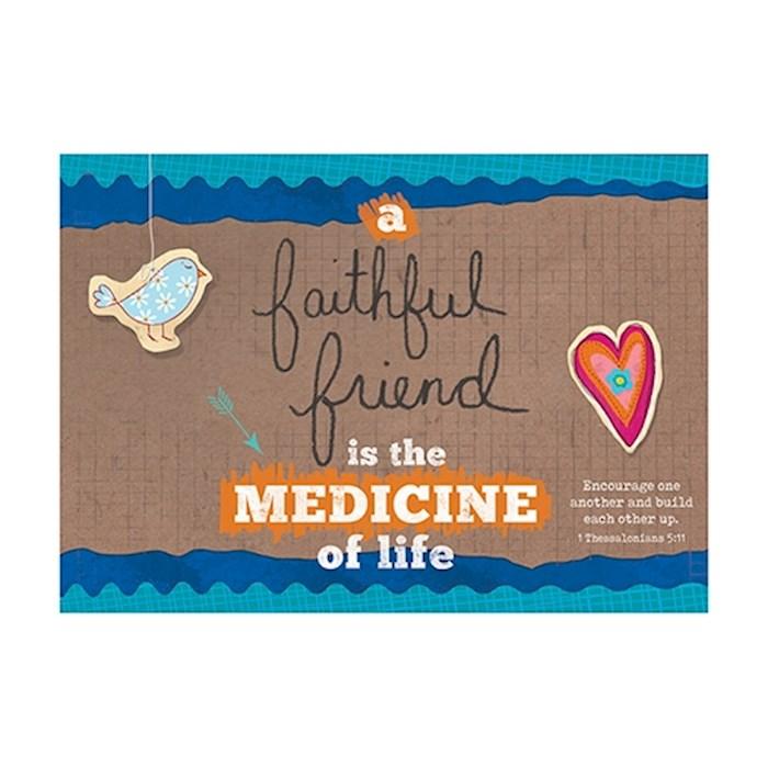 Postcard-Faithful Friend (6 x 4.25) (Pack Of 6)   SHOPtheWORD