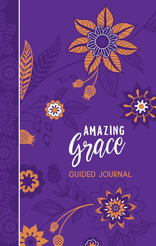 Amazing Grace Guided Journal by City Gifts Belle | SHOPtheWORD
