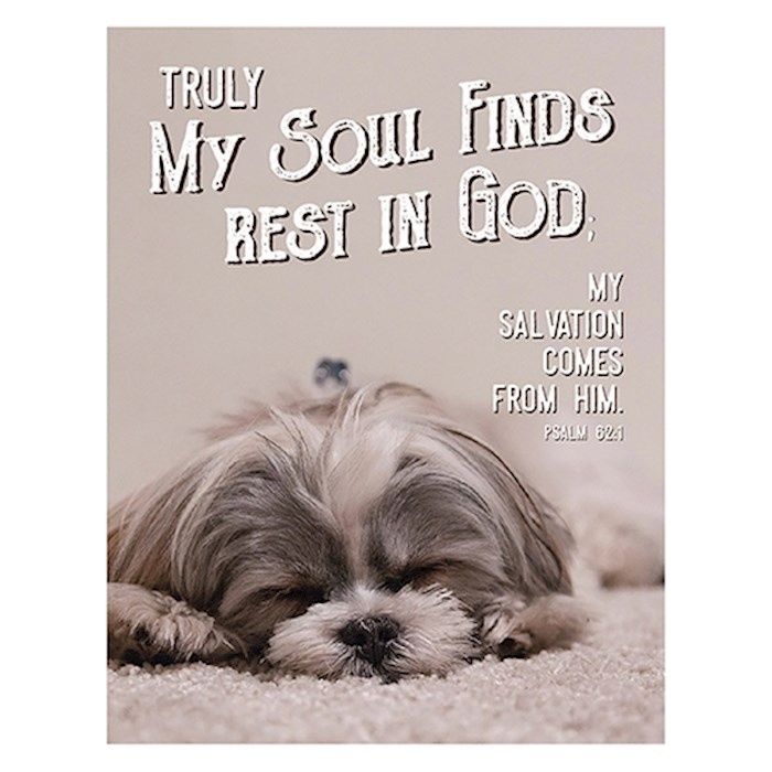"Magnet-My Soul Finds Rest (2.625"" x 3.375"") 
