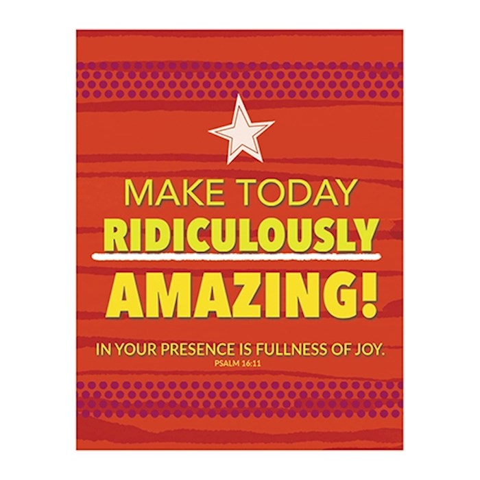 "Magnet-Make Today Amazing (2.625"" x 3.375"") 