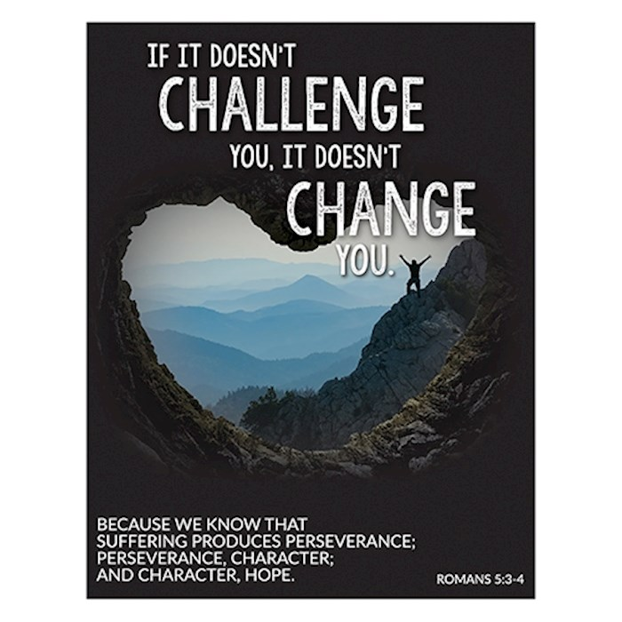 "Magnet-If It Doesn't Challenge (2.625"" x 3.375"") 