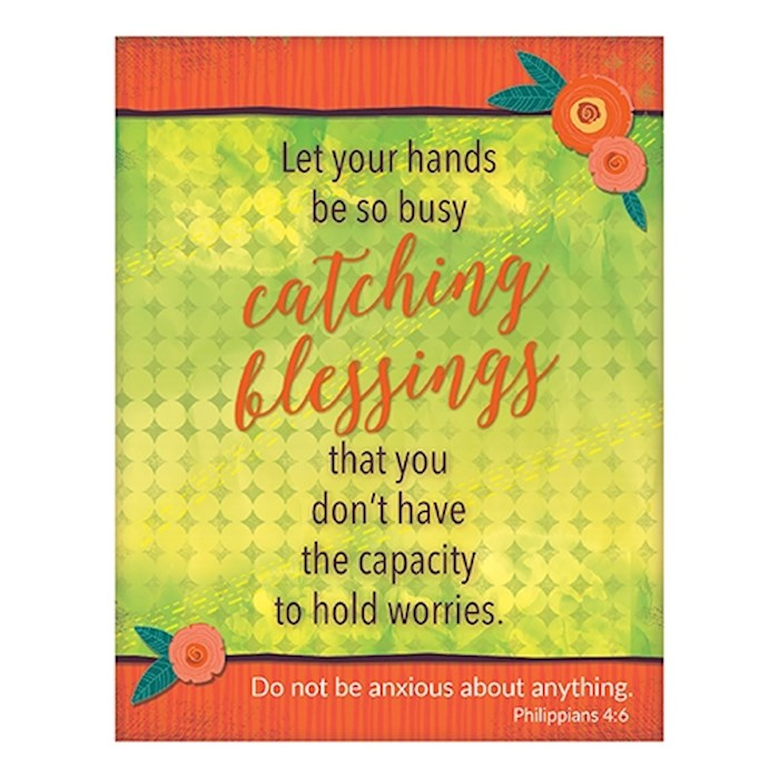 "Magnet-Catching Blessings (2.625"" x 3.375"") 
